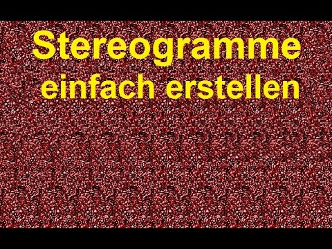 3d stereogramm erstellen so geht 39 s youtube. Black Bedroom Furniture Sets. Home Design Ideas