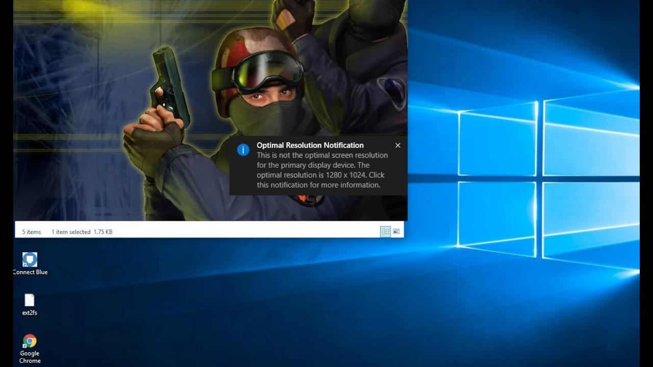 counter strike 1.6 opengl error windows 10