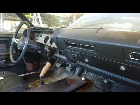 1973 Dodge Challenger Dash Removal - YouTube