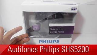audifonos Philips SHS5200, unboxing y review en espaol