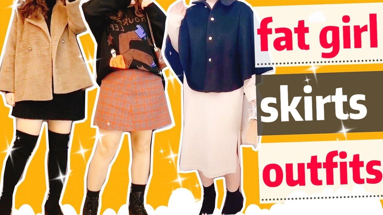 Người béo nên mặc váy kiểu gì💗mùa đông mặc gì cho đẹp.How to style skirts in winter for chubby girl