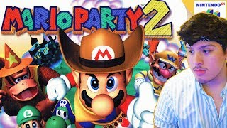 I am too lonely today so I play Mario Party 2 alone