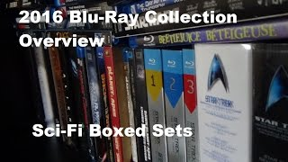 2016 DVD/Blu-Ray Collection Overview - Science Fiction Boxed Sets and Other Stuff