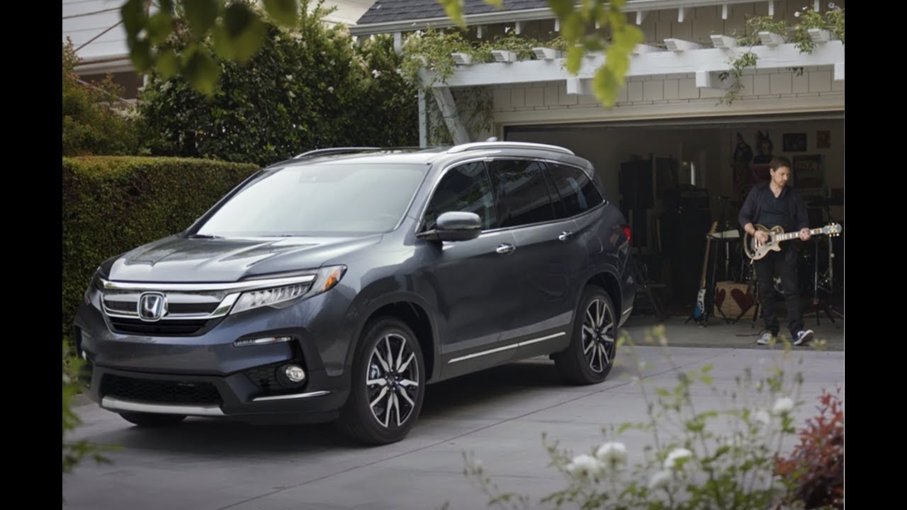 the 2019 honda pilot  style takes center stage