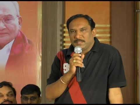 Laxminarayana, vice-president film critics association speech on vishwanath