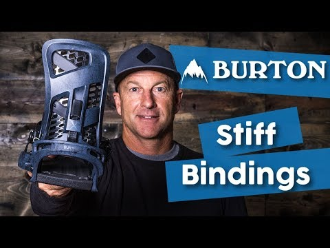 2018 Burton Stiff Flex Snowboard Bindings - Overview - TheHouse.com