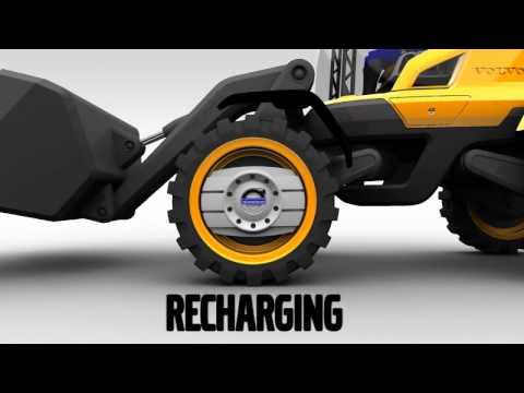 Volvo GRYPHIN - Volvo's futuristic Loader concept machine - YouTube