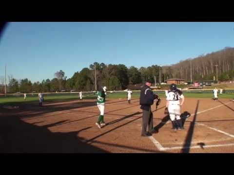 2014 AHSAA Softball: Briarwood Christian 13 John Carroll Catholic High School 0