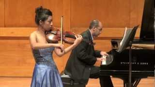"Anton Webern: ""Four Pieces,"" for violin & piano, Op. 7"