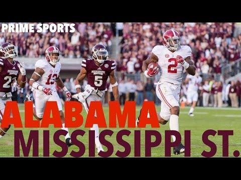#2 Alabama @ #17 Mississippi State 2015 Highlights (Prime Sports)