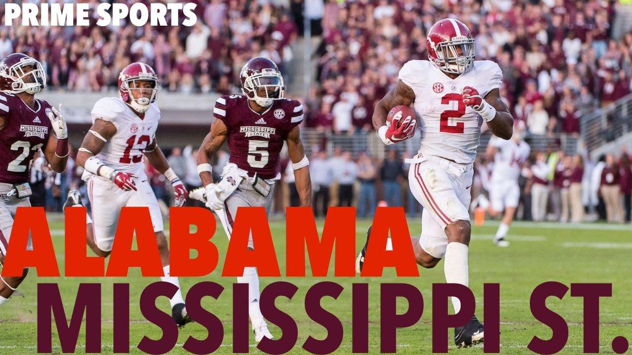 2 Alabama 17 Mississippi State 2015 Highlights Prime Sports