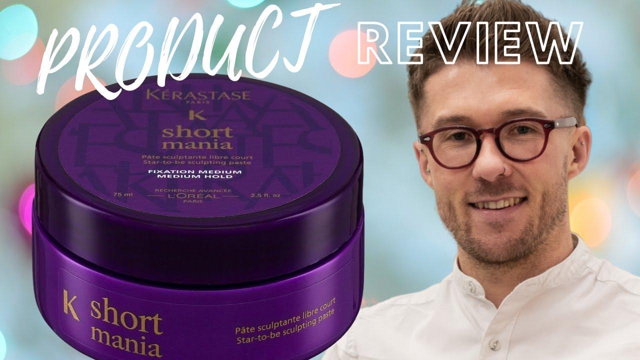 Kerastase Short Mania Men S Hair Product Review Eftv Youtube