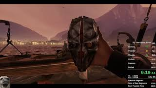 Dishonored 2 - Corvo Non-Lethal/Ghost Speedrun in 28:13 IGT