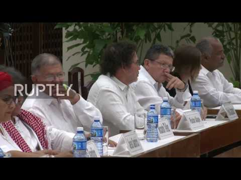 Cuba: Colombian govt. and FARC sign new peace deal in Havana