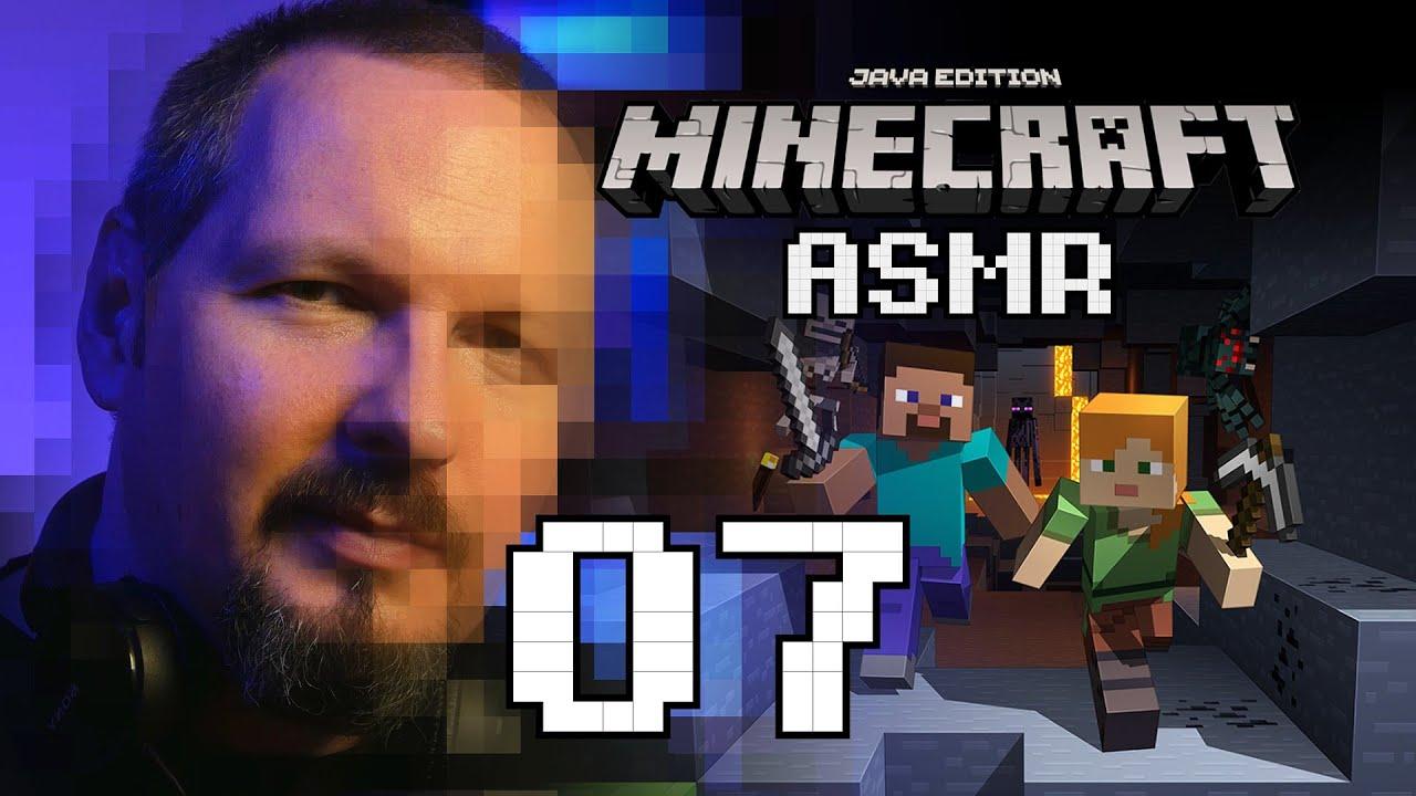 ASMR PL | Relaks z Minecraftem #7 - Sypialnia na zachód (gameplay, szept)