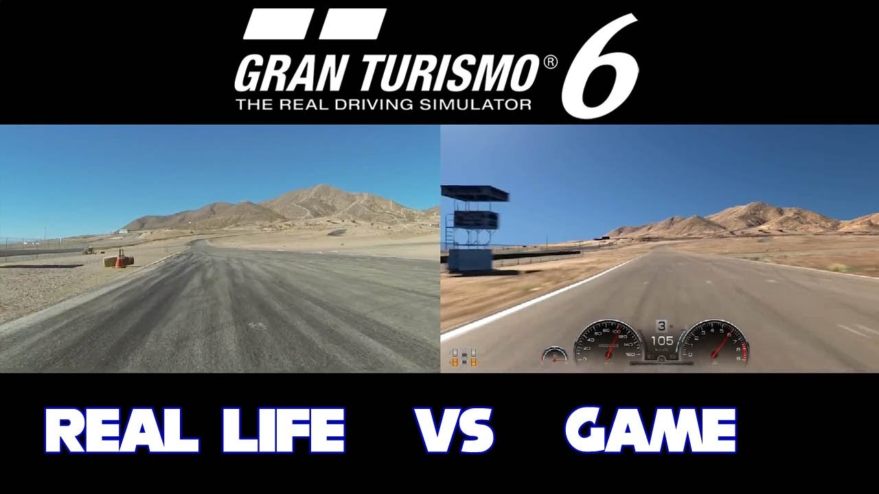 Gran Turismo 6 - Real Life vs Game Comparison [1080p] TRUE ...