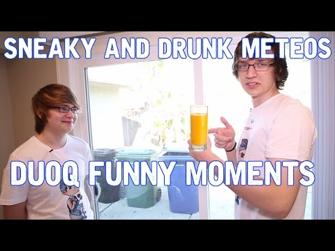 Sneaky and Drunk Meteos DuoQ funny Moments