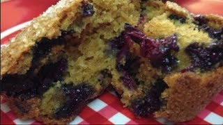 Classic Fresh Blueberry Muffin Recipe ~ Noreen