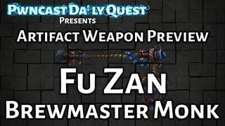 Brewmaster Monk Artifact Weapon Preview: World of Warcraft Legion Beta