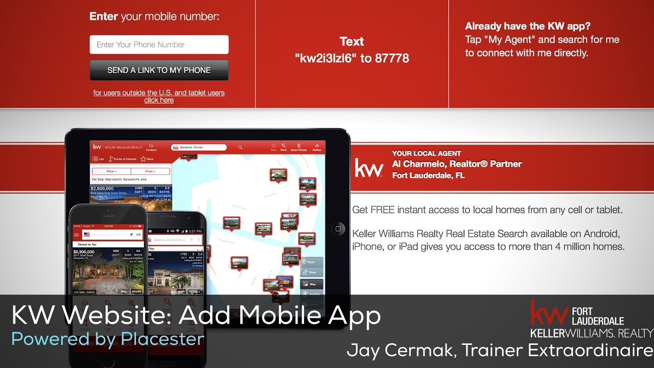 kw website how to add your mobile app to your kw website powered by