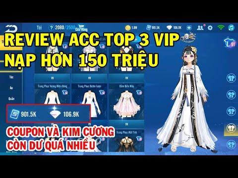 cách hack nick zing speed của người khác - ZingSpeed Mobile   Review Acc Top 3 Vip Nạp Hơn 150 Triệu