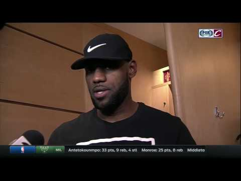 LeBron James talks Cleveland Cavaliers' month, J.R. Smith's healing process and All-Star Game