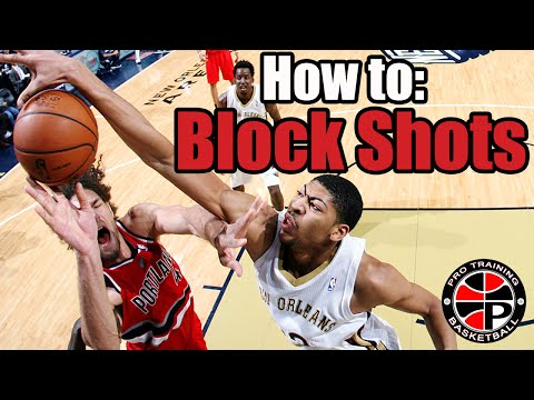 How to Block Shots | Become a Better Defender | Pro Training Basketball
