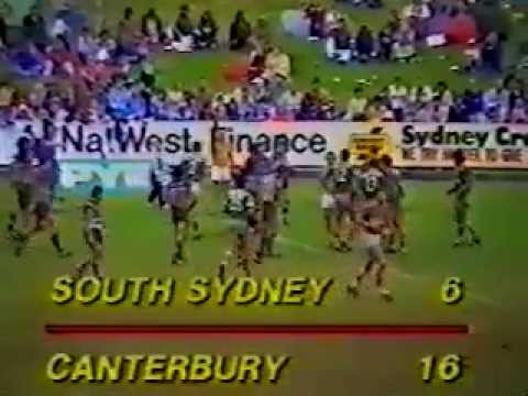 1984 Rd23 Canterbury v Souths