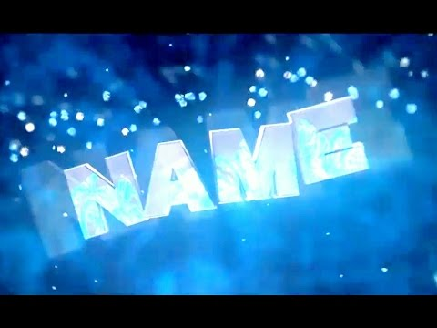 Free 3D Blue Flash Intro #12   Cinema 4D