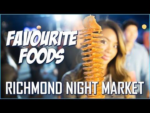 Richmond Night Market 2016 - My Favourite Foods