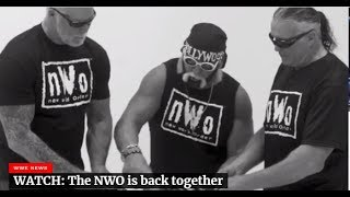 NWO RETURNS to WWE! NWO is back together! NWO Reunites in WWE 2018!