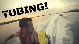 Jet Ski Adventures and tubing! (GOPRO HD)