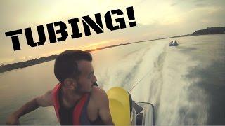 Jet Ski Adventures and tubing! (GOPRO HD)