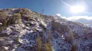 Descending Chamonix-Mont Blanc in a Cable Car – 3842m (12605ft) – GoPro