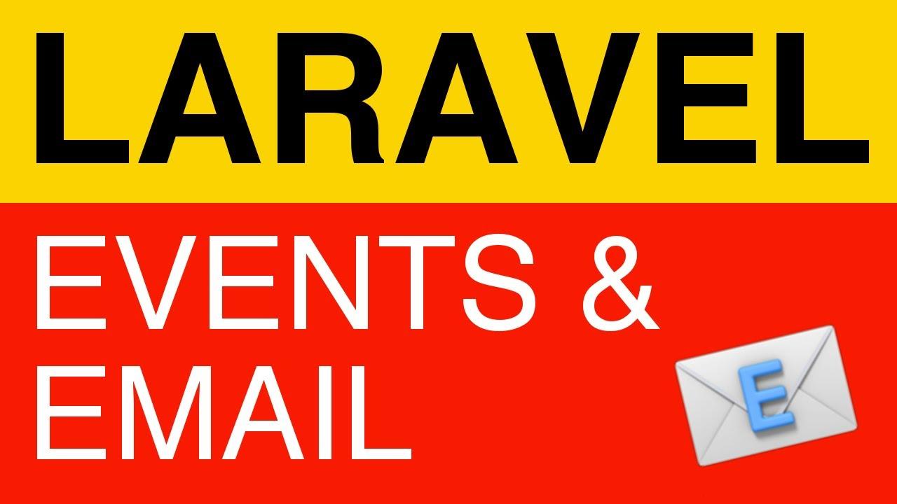 laravel events tutorial