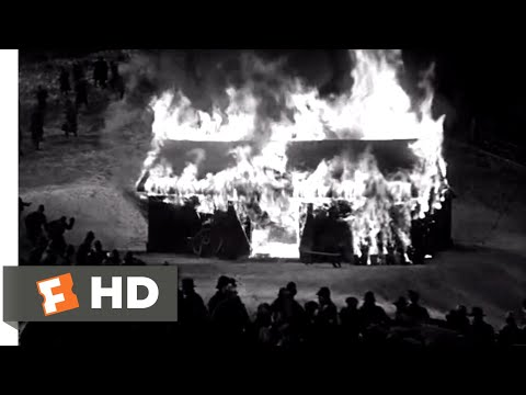 The Invisible Man (1933) - Trapped in a Barn Scene (9/10) | Movieclips
