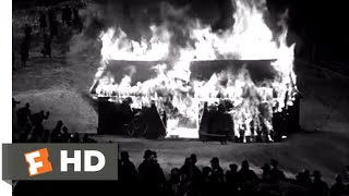 The Invisible Man (1933) - Trapped in a Barn Scene (9/10)   Movieclips