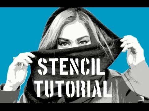 How To Make A Multi Layer Stencil! - YouTube
