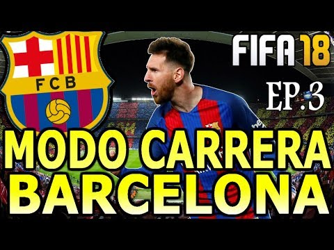 ¡EMPIEZA LA LIGA! | FIFA 18 MODO CARRERA BARCELONA EP.3