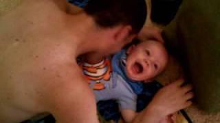 Baby Wrestling Dad MMA