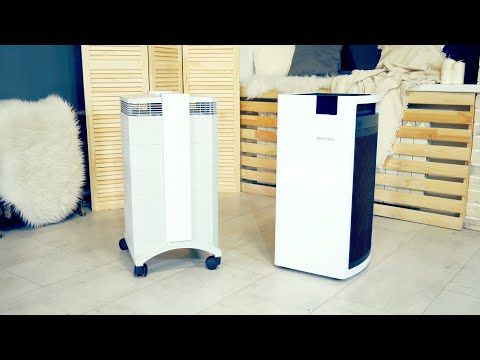 Обзор и тест очистителей воздуха Boneco P700 и IQAir HealthPro 250