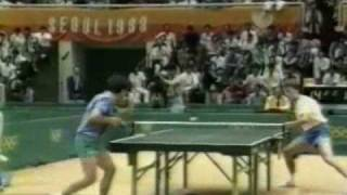 Kim Ki-Taek vs Jan-Ove Waldner, Seoul 1988 Olympic Games