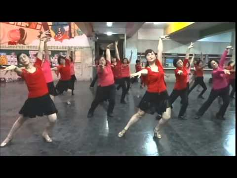 Rumba 倫巴-Hai Di Mo Zhen 海底摸針 Demo+Teach-Solo Dance