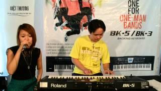 Đàn Organ Roland BK5 - Đợi Anh Trong Mơ