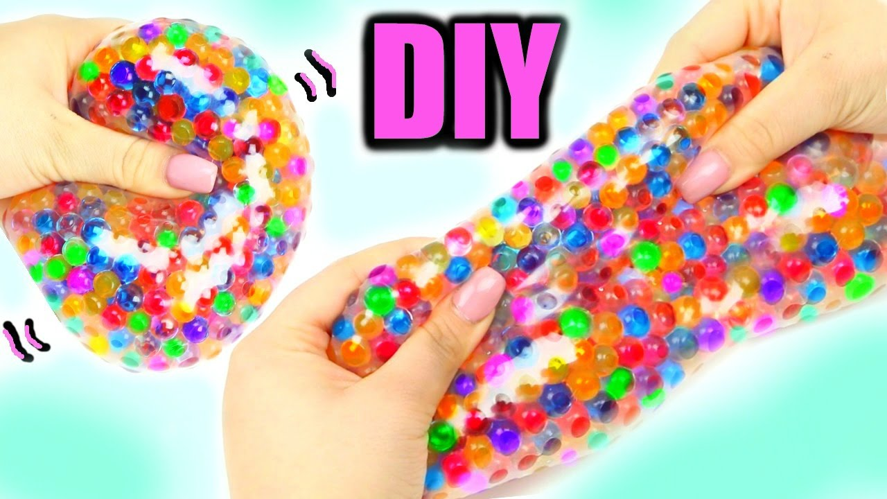 super squishy stretchy ball diy orbeez stress ball youtube. Black Bedroom Furniture Sets. Home Design Ideas
