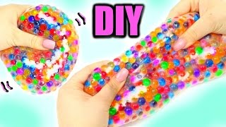 Super Squishy Stretchy Ball ! DIY Orbeez Stress Ball!