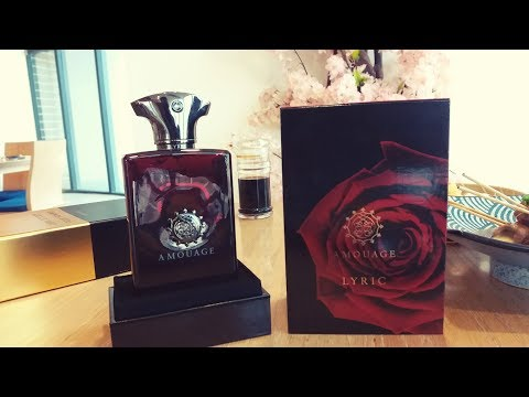 Amouage Lyric Man Fragrance Review (2008)