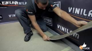 Укладка напольного винилового покрытия Vinilam с механическим замком.(, 2016-07-04T13:15:09.000Z)
