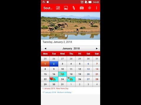 south african calendar 2018 apps on google play