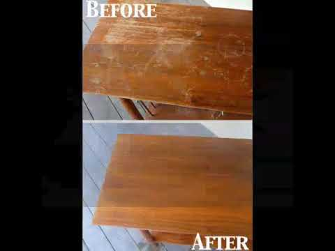 How to clean wood furniture | how to clean kitchen cabinets | tips & tricks | try new everyday ♡